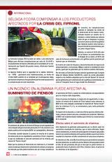 Un incendio en Alemania puede afectar al suministro de piensos