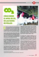 Cómo medir el nivel de CO 2 en las naves de pollos