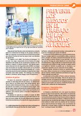 Prevenir los riesgos en el trabajo de las granjas avícolas