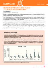 RELACIÓN ENTRE EL PICAJE DE PLUMAS  Y LA MICROFLORA TEGUMENTARIA