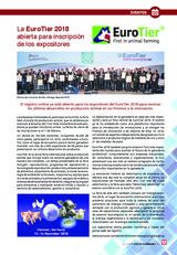 La EuroTier 2018  abierta para inscripción  de los expositores