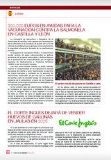 200.000 Euros en ayudas para la vacunación contra la Salmonela  en Castilla y León