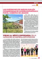 Las inversiones de Huevos Guillén consideradas de interés estratégico por el gobierno de Aragón