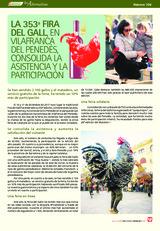 LA 353ª FIRA DEL GALL, EN VILAFRANCA DEL PENEDÉS, CONSOLIDA LA ASISTENCIA Y LA PARTICIPACIÓN