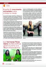 Las hermanas Pérez Sáenz de Avícola Rioja  ganan el premio a la 'Mujer emprendedora'