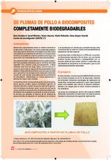 DE PLUMAS DE POLLO A BIOCOMPOSITES COMPLETAMENTE BIODEGRADABLES
