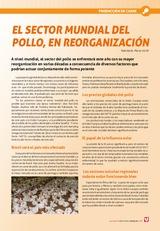 El sector mundial del pollo, en reorganización