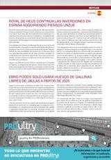 ROYAL DE HEUS CONTINÚA LAS INVERSIONES EN ESPAÑA ADQUIRIENDO PIENSOS UNZUÉ
