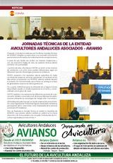 JORNADAS TÉCNICAS DE LA ENTIDAD AVICULTORES ANDALUCES ASOCIADOS - AVIANSO