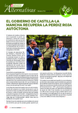 EL GOBIERNO DE CASTILLA-LA MANCHA RECUPERA LA PERDIZ ROJA  AUTÓCTONA