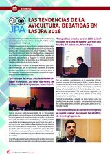 LAS TENDENCIAS DE LA AVICULTURA, DEBATIDAS EN LAS JPA 2018