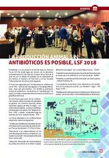 LA PRODUCCIÓN ANIMAL SIN ANTIBIÓTICOS ES POSIBLE, LSF 2018