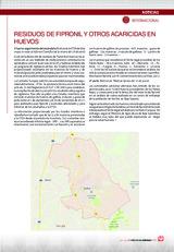 RESIDUOS DE FIPRONIL Y OTROS ACARICIDAS EN HUEVOS