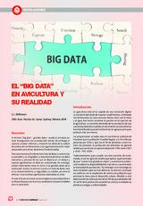 """El """"Big Data"""" en avicultura y su realidad"""