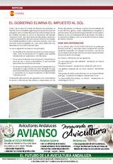 Noticias España: El Gobierno elimina el impuesto al sol