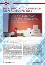 Se celebró la XV Conferencia Europea de Avicultura