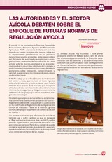 Las autoridades y el sector avícola debaten sobre el enfoque de futuras normas de regulación avícola