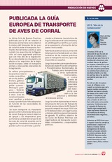 Publicada la guía europea de transporte de aves de corral