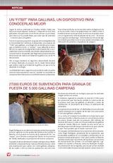 Noticias: 27.000 euros de subvención para granja de puesta de 5.000 gallinas camperas