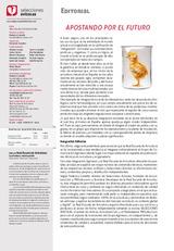 Editorial Apostando por el futuro