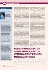 NUEVOS REGLAMENTOS SOBRE MEDICAMENTOS VETERINARIOS Y PIENSOS MEDICAMENTOSOS