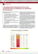 LOS ANIMALISTAS FISCALIZAN LAS POLITICAS ADOPTADAS POR LAS EMPRESAS EN BIENESTAR DE LOS POLLOS