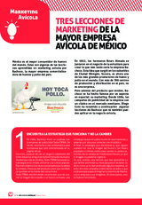 TRES LECCIONES DE MARKETING DE LA MAYOR EMPRESA AVÍCOLA DE MÉXICO