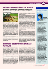 PRODUCCIÓN ECOLÓGICA DE HUEVOS