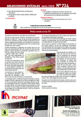 La Real Escuela de Avicultura OPINA: Pollo verde en la TV
