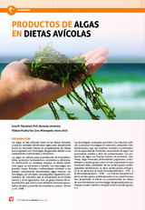 Productos de algas en dietas avicolas