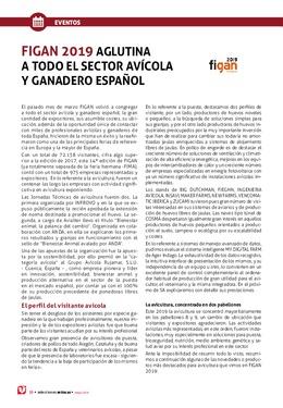 FIGAN 2019 aglutina a todo el sector avícola y ganadero español