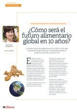 ¿Cómo será el futuro alimentario global en 10 años?
