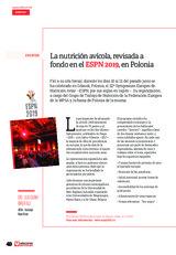 La nutrición avícola, revisada a fondo en el ESPN 2019, en Polonia