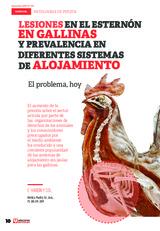 Lesiones en el esternón en gallinas y prevalencia en diferentes sistemas de alojamiento