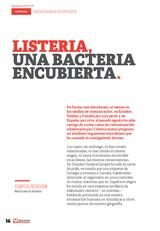 Listeria una bacteria encubierta
