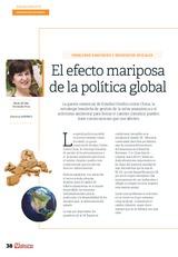 El efecto mariposa de la política global