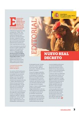 Editorial: El nuevo REAL DECRETO de ORDENACIÓN DEL SECTOR AVÍCOLA  español: una oportunidad para hacer las cosas bien, no la desaprovechemos