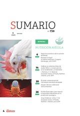 Sumario SA - ESPECIAL NUTRICIÓN AVÍCOLA