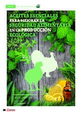 Aceites esenciales para mejorar la seguridad alimentaria en la producción ecológica