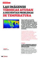 Las imágenes térmicas ayudan a solventar problemas de temperatura