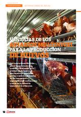 ESPECIAL HUEVOS LIBRES DE JAULAS: Ventajas de los aviarios multinivel para la producción de huevo