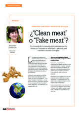 "¿""Clean meat"" o ""Fake meat""?"