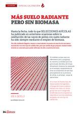 ESPECIAL CALEFACCIÓN EN AVICULTURA: Mas suelo radiante pero sin biomasa
