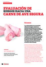 Evaluación de riesgos hacia una carne de ave segura