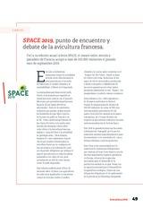 SPACE 2019, punto de encuentro y debate de la avicultura francesa.