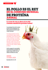 El pollo es el Rey en el consumo mundial de Proteína Animal
