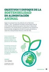 Objetivos y enfoque de la sostenibilidad en alimentación animal