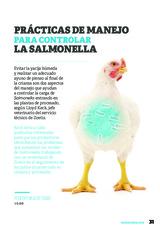 Prácticas de manejo para controlar la Salmonella