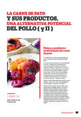 La carne de pato y sus productos, una alternativa potencial del pollo ( y II )
