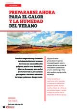 Especial INSTALACIONES AVICOLAS: Prepararse ahora para el calor y la humedad del verano